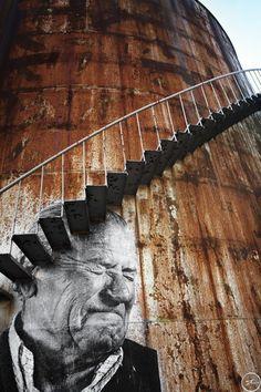 Cartagena---Los Surcos de la Ciudad   JR - Artist