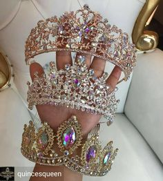 Cute Jewelry, Hair Jewelry, Bridal Jewelry, Quinceanera Tiaras, Quinceanera Dresses, Fantasy Jewelry, Gothic Jewelry, Quince Dresses, Crystal Crown