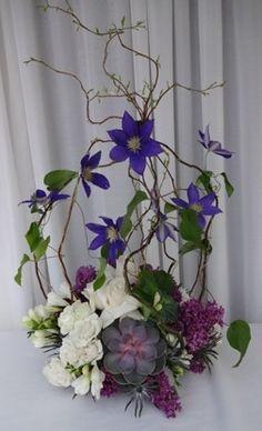 beautiful clematis original Aspen Branch www.aspenbranch.com