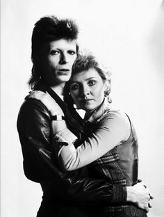December 1973 : David Bowie and Lulu by Kent Gavin