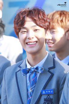 주학년 (Joo Haknyeon) Joo Haknyeon, Jin Goo, Produce 101 Season 2, Boys Who, Lineup, Boy Groups, Fangirl, Best Friends, People