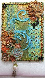 ~Scraps of Darkness ~ Life Mixed Media Canvas, Mixed Media Art, Mix Media, Altered Canvas, Altered Art, Craft Projects, Project Ideas, Craft Ideas, Fun Crafts