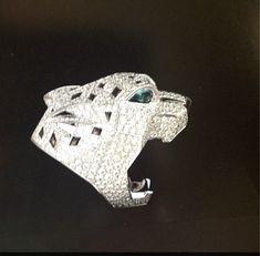 Cartier panther diamond ring