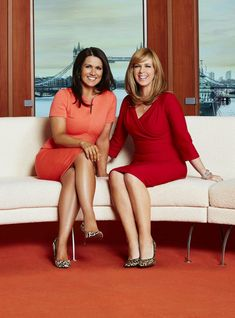 Kate with Susanna (Jonathan Ford / ITV)