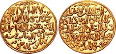 ISLAMIC, Seljuks of Rum. Kay Ka'us II, Qilich Arslan IV, & Kay Qubadh II. Joint rule, AH 647-655 / AD 1249-1257. AV Dinar (25mm, 4.50 g, 7h). Dar al-Malik Qunya mint. Dated AH 648 (AD 1250/1).