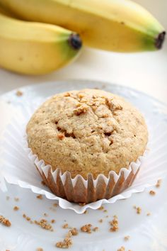 Whole Wheat Grape Nut Banana Muffins. Healthy Scrumptious Muffin Recipe, your kids, and you will devour! A more delicious way to eat Healthy Grape Nuts Cereal Cereal Recipes, Muffin Recipes, Snack Recipes, Snacks, Nut Recipes, Meatless Recipes, Sweet Recipes, Recipies, Dinner Recipes
