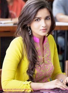 Yellow Cotton Heavy Resham Work Bollywood Salwar Suit http://www.angelnx.com/Salwar-Kameez/