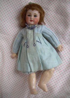Ancienne Poupee Porcelaine Unis France 1 Bleuette Antique Doll 27cm Circa 1925 | eBay