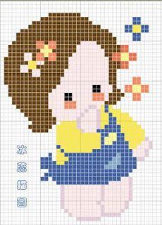 bonequinha+chinesa+ponto+cruz.jpg (230×320)