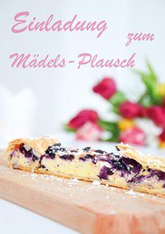 Topfen-Beeren-Strudel // Cheesecake Blueberry Strudel