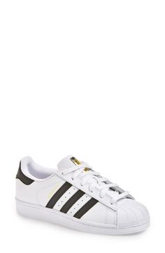 Free shipping and returns on adidas 'Superstar' Sneaker (Women) at Nordstrom.com. The iconic Superstar sneaker stays true to its roots in a refreshing and ever-classic whiteout palette.