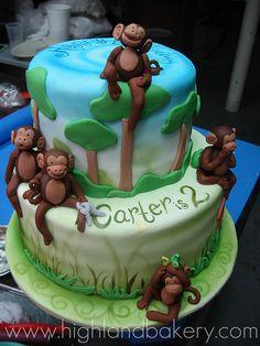 Fun Monkey cake.