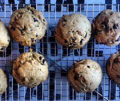 Morning muffin recipe. Uses whole wheat flour and fruits and veggies.