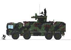 """Flugabwehrraketenfahrzeug 1 """"Роланд"""""""