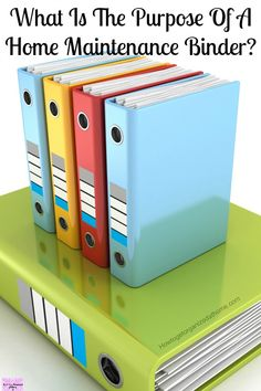 Is The Purpose Of A Home Maintenance Binder? What Is The Purpose Of A Home Maintenance Binder?What Is The Purpose Of A Home Maintenance Binder? Home Improvement Projects, Home Projects, Home Renovation, Home Remodeling, San Diego, Home Maintenance Checklist, Binder Organization, Organization Station, Organizing Ideas