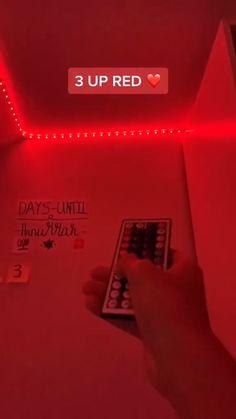 Led Room Lighting, Room Lights, Strip Lighting, Cute Room Decor, Flexible Led Strip Lights, Led Light Strips, Orange Led Lights, Led Tape, Peekaboo Highlights