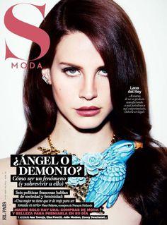 Lana na capa da espanhola S Moda