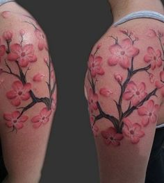 Cherry Blossom Tattoos - Tattoos.net