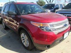2015 Ford Explorer  Ruby Red Metallic Tinted Clearcoat For Sale in San Antonio, TX  Vin: 1FM5K7B89FGB49059 - http://www.autonet.net/cardealers/texas/mccombsfordwest/cars-for-sale/2015-ford-explorer-ruby-red-metallic-tinted-clearcoat-for-sale-in-san-antonio-tx-vin-1fm5k7b89fgb49059/