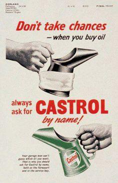 Castrol Motor Oil