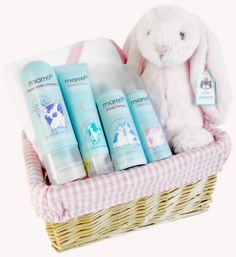 Baby Gift Baskets | baby girl gift basket bath time baby girl gift basket this lovely baby ...