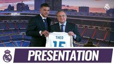 Video El discurso de Theo en su presentación con el Real Madrid!