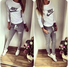 64 Ideas For Sport Wear Mens Nike Shoes Outlet Nike Outfits, Sport Outfits, Fall Outfits, Casual Outfits, Summer Outfits, Casual Clothes, Nike Clothes, Casual Suit, Teen Outfits