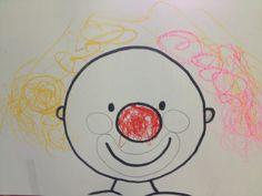 """Welkom in ons kleuterklasje! : Thema: """"Het is feest! Het is CARNAVAL! Circus Baby, Circus Clown, Circus Theme, Preschool Circus, Circus Crafts, Carnival Activities, Fun Activities For Kids, Bubble Wrap Art, Sneezy The Snowman"""