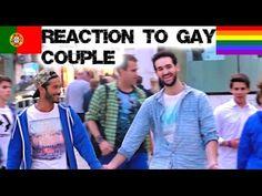 Portugal: Mira la leccion de respeto frente a una pareja gay que camina tomada de la mano por las calles.   Zona Gay Peru