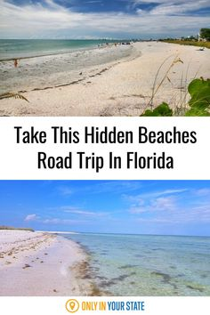 Cool off and avoid the crowds this summer on the best hidden beaches road trip. Discover Florida's most beautiful, lesser known beaches. Florida Trips, Florida Travel, Florida Beaches, Dream Vacation Spots, Vacation Destinations, Dream Vacations, Best Beach In Florida, South Florida, Summer Travel