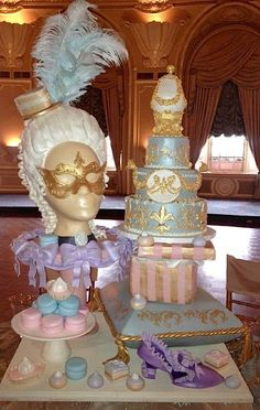 """from CakeWrecks.com ~ """"Sunday Sweets: C'estBon!"""" (cakes inspired by Marie Antoinette) ~ July 22, 2012"""