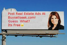 Post real estate ads in BuySellSeek.com and market your listings and services online. BuySellSeek is one of the most trusted and valued daily classified ads websites. http://www.buysellseek.com/buysell/1/property.html