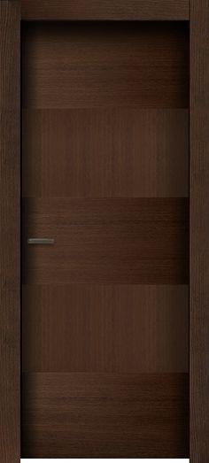 Modern Wooden Doors, Internal Wooden Doors, Wood Doors, Bedroom Door Design, Bedroom Doors, Asian Interior Design, Carpentry Projects, House Doors, Entrance Doors
