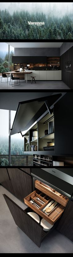 Modern Kitchen Design : CGI_Poliform Kitchen