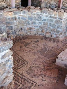 Battistero, Plaošnik, Ocrida, Macedonia, mosaici del IV–VI secolo