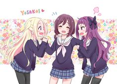 [Moe bot][#3629] I won't give you my Naru! [Hanayamata]