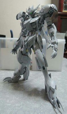 Gundam barbatos lupus rex WIP