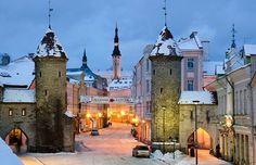 Таллин, Эстония.