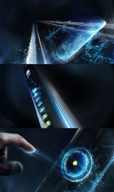 AT&T: Electricity on Behance