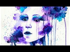 Daydream [Watercolor Portrait] - Speed painting - YouTube