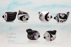 ying yang bird beads Louise Nelson 2011 by Louise Nelson, via Flickr
