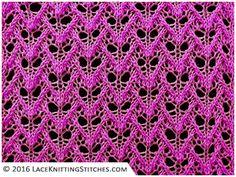 Lace knitting No.25 | Faun's Eyes