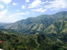 Rugged mountains of Central Sulawesi