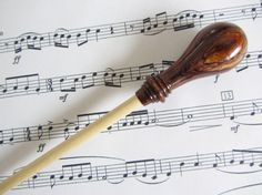 Music Conductors Baton  handmadeCocobolo by StudioNorthernLights, $42.50