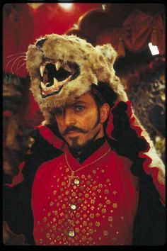 """This show from """"Moulin Rouge"""" entertains me greatly. Why is he wearing a rug?"""