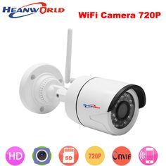 Video Surveillance Heanworld Poe Camera 720p Power Over Ethernet Ir Bullet Ip Camera Onvif Outdoor Indoor Home Security Camera Cctv Network Ip Cam High Quality Surveillance Cameras