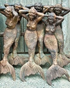 mermaid row....my daughter would love these