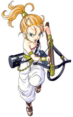 Marle - Characters & Art - Chrono Trigger