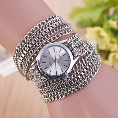Cheap saati, Buy Directly from China Suppliers:Watches Women Fashion Watch 2017 Ladies Bracelet Chained Women Quartz Watch Relojes Mujer Hodinky Montre Femme Kol Saati 171 Casual Watches, Watches For Men, Women's Watches, Unique Watches, Wrist Watches, Luxury Watches, Ladies Dress Watches, Unisex Fashion, Women's Fashion