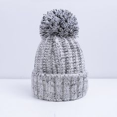 GREY FEVER! A shade that suits all season.  BEANIE grey winter hat for Ladies.  www.socialite-hub.com